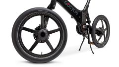 La Gocycle G4i+ con ruote in carbonio