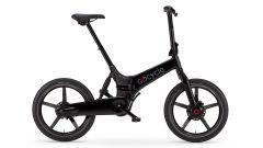 La Gocycle G4i+ di colore nero lucido