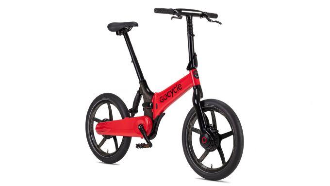 La Gocycle G4i+ di colore rosso