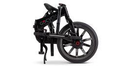 La Gocycle G4i+ piegata