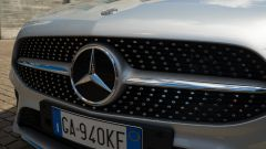 La griglia della Mercedes Classe A 250 e