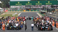 La griglia di partenza del Gran Premio di Gran Bretagna 2019 a Silverstone