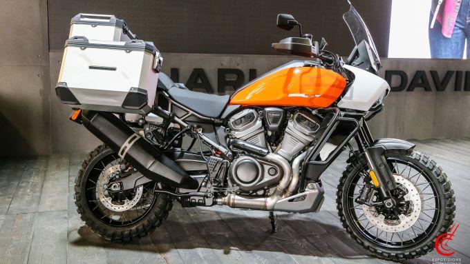 La Harley-Davidson Pan America presente al Motor Bike Expo di Verona