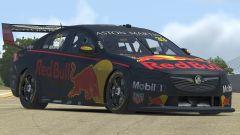 La Holden Commodore guidata da Max Verstappen su iRacing, vista anteriore