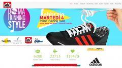 La homepage della onlus Purosangue
