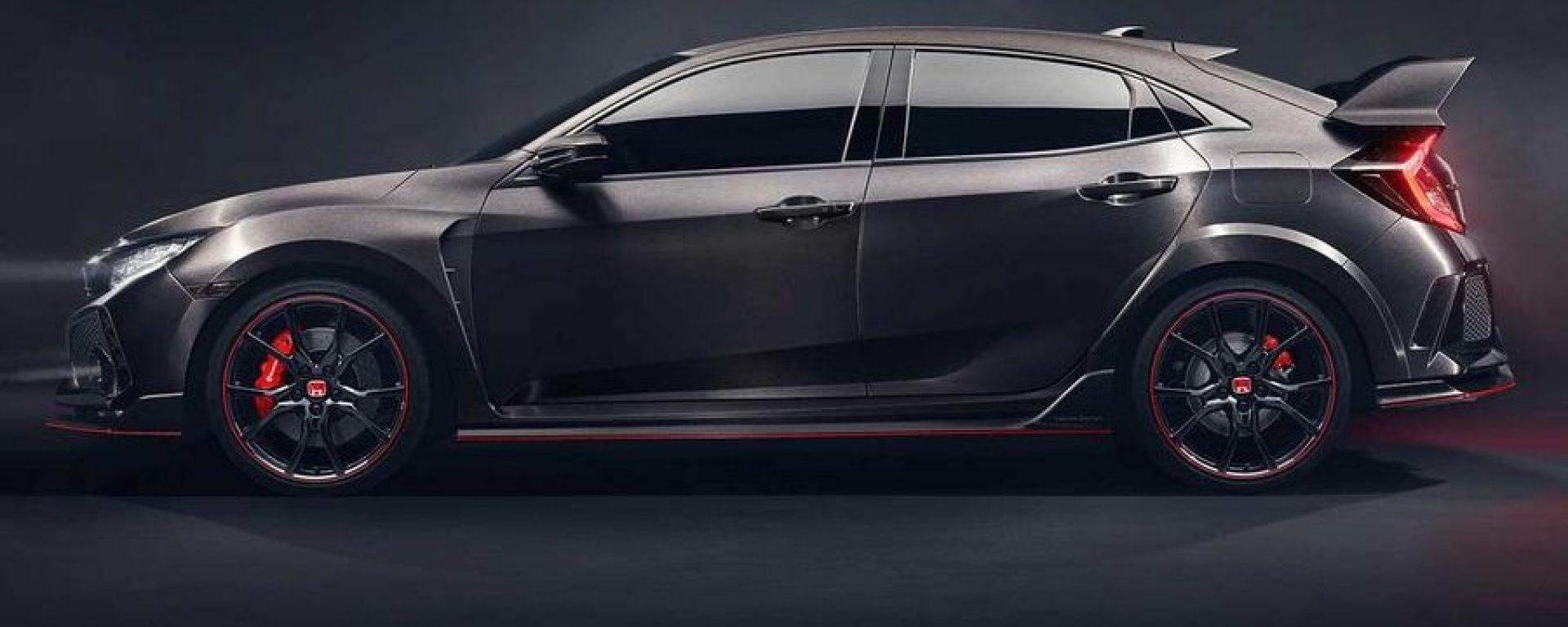 La Honda Civic Type R sarà disponibile sul mercato nel 2017