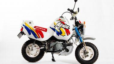 La Honda Z50J Monkey Baja Africa, la copia in miniatura dell'Africa Twin