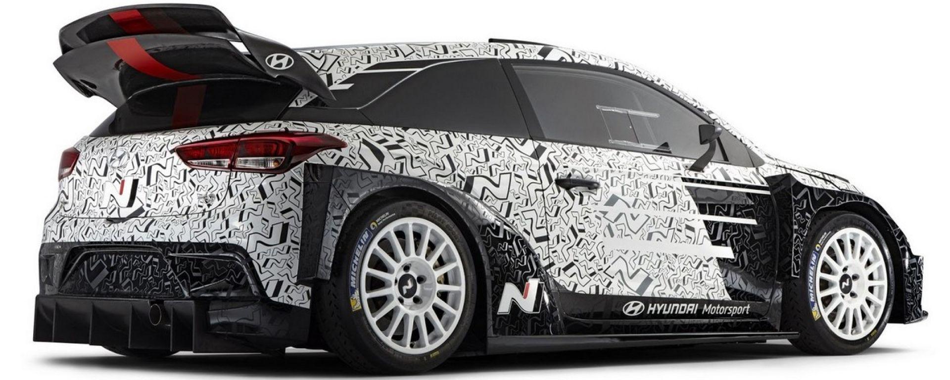 Hyundai presenterà l'ultima vettura WRC 2017, al Monza Rally Show