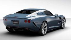 La Iso Rivolta GTZ Zagato: il posteriore non ricorda quello della Ferrari 812 Superfast?