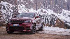 La Jeep Grand Cherokee SRT del Jeep Winterproof Tour 2017