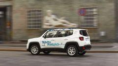 La Jeep Renegade 4xe per le vie di Torino