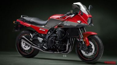 La Kawasaki GPZ 900R immaginata da Young Machines