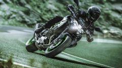 La Kawasaki Z900 m.y. 2021 tra le curve