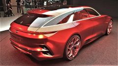 La Kia Proceed Shooting Brake: la concept vista di 3/4 posteriore