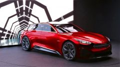 La Kia Proceed Shooting Brake: vista di 3/4 della concept