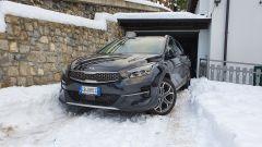 La Kia Xceed sulla neve