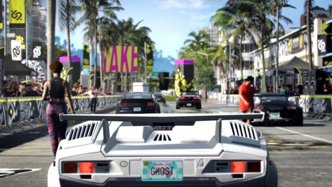 La Lamborghini Countach in Need for Speed Heat