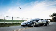 La Lamborghini Huracan di European Auto Group, che ospiterà il cambio manuale dell'Audi R8