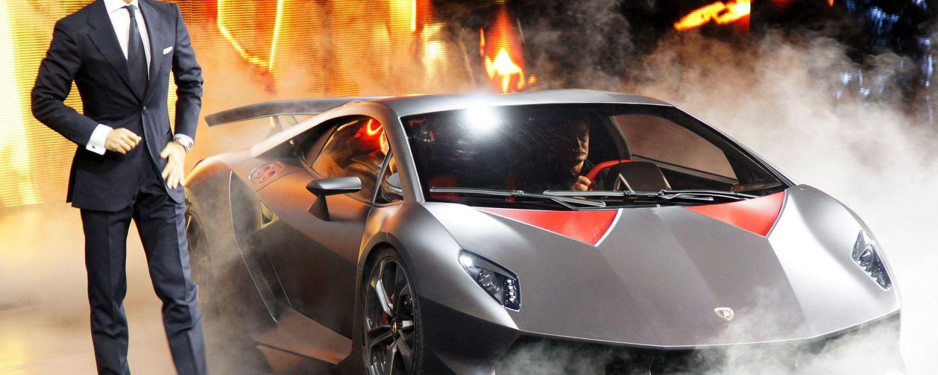 La Lamborghini Sesto Elemento in dettaglio