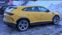 La Lamborghini Urus avvistata in Austria