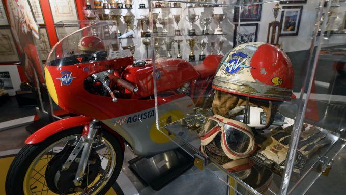 La leggendaria MV Agusta 500 tre cilindri di Giacomo Agostini