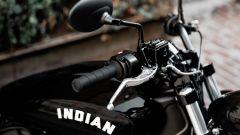 La leva del freno anteriore della Indian Scout Bobber Sixty