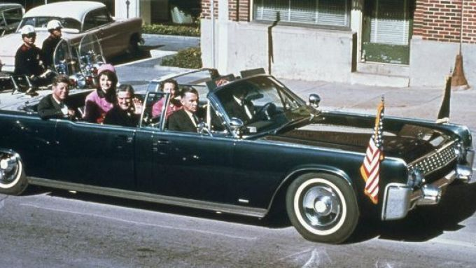La limousine presidenziale di John Fitzgerald Kennedy