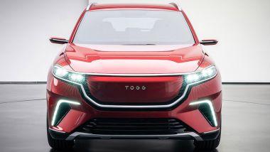 La linea del SUV di Togg è stata realizzata in collaborazione con Pininfarina