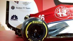La livrea della nuova Alfa Romeo Sauber, vista laterale