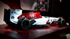 La livrea della nuova Alfa Romeo Sauber, vista posteriore
