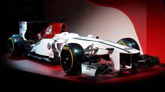 La livrea dell'Alfa Romeo Sauber F1 Team