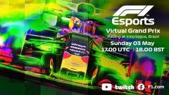 F1 torna in pista: domenica VirtualGP a Interlagos