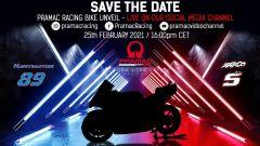 La locandina della presentazione del team Ducati Pramac Racing MotoGP 2021