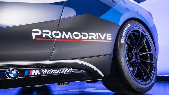 La macchina che parteciperà alla BMW M2 Racing Cup Italy 2021: dettaglio della carrozzeria