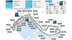 La mappa del circuito di Montecarlo