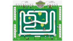 La mappa del padiglione Riding E-xperience