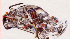 La meccanica della Peugeot 205 GTI - Immagine: 7