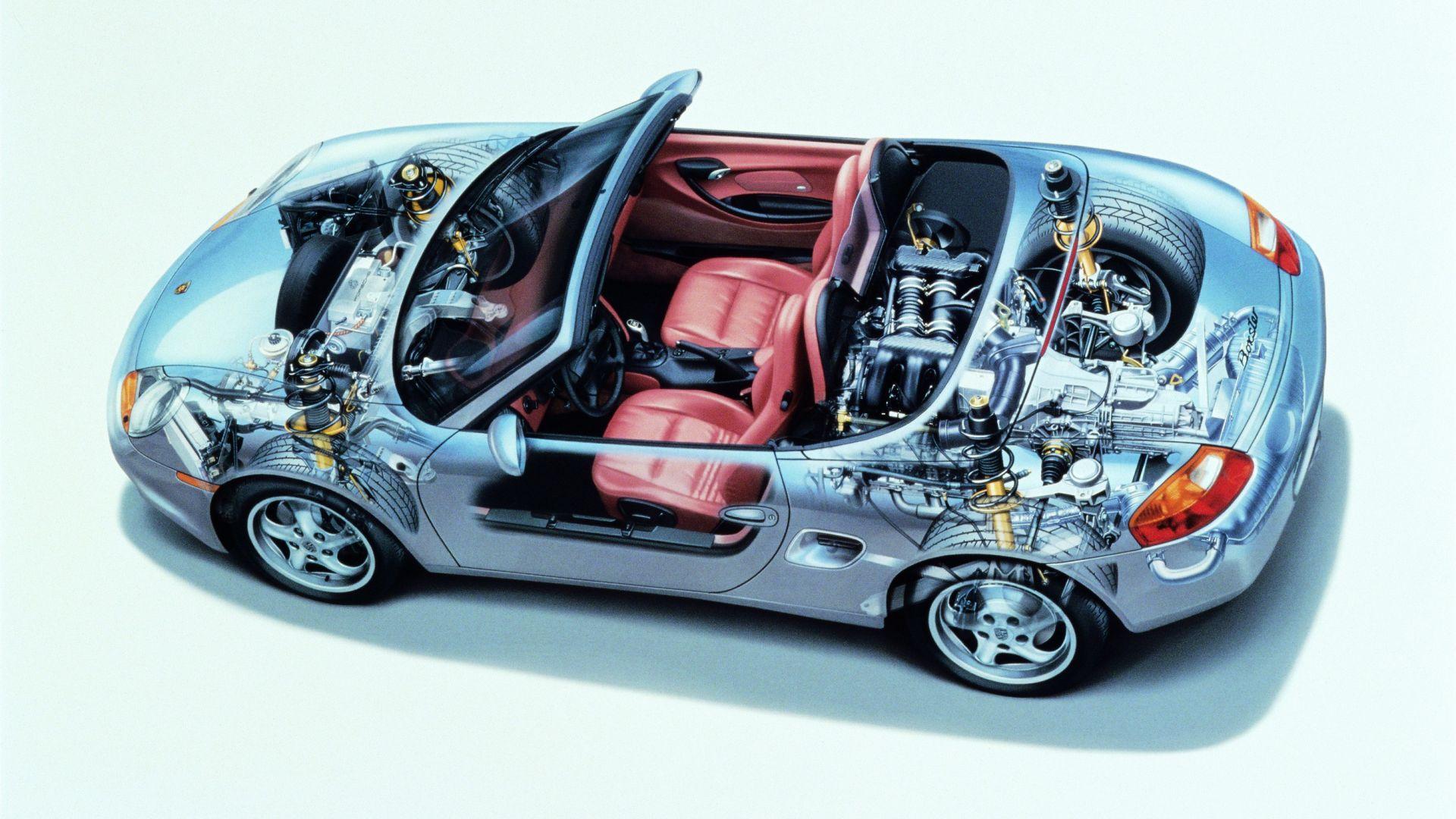 Guida Usato La Meccanica Della Porsche Boxster 986