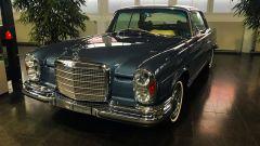 La Mercedes 600 Pullman nel reparto Mercedes Classic a Stoccarda