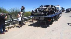 Incidente José Antonio Reyes: ha ceduto una gomma a 237 km/h
