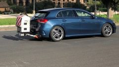 La Mercedes Classe A col PEMS per la rilevazione delle RDE, le emissioni in fase di utilizzo su strada