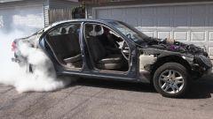 Burnout: da una GoPro dentro la gomma al video su YouTube