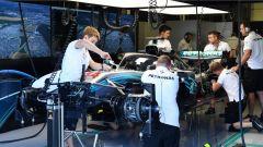 La Mercedes di Lewis Hamilton - GP Gran Bretagna 2018