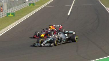 La Mercedes F1 di Lewis hamilton