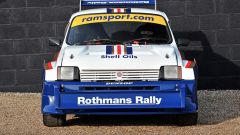 La MG Metro 6R4 venne sviluppata in collaborazione con il Team Williams di Formula 1