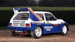 La MG Metro Gruppo B montava un motore V6 Cosworth