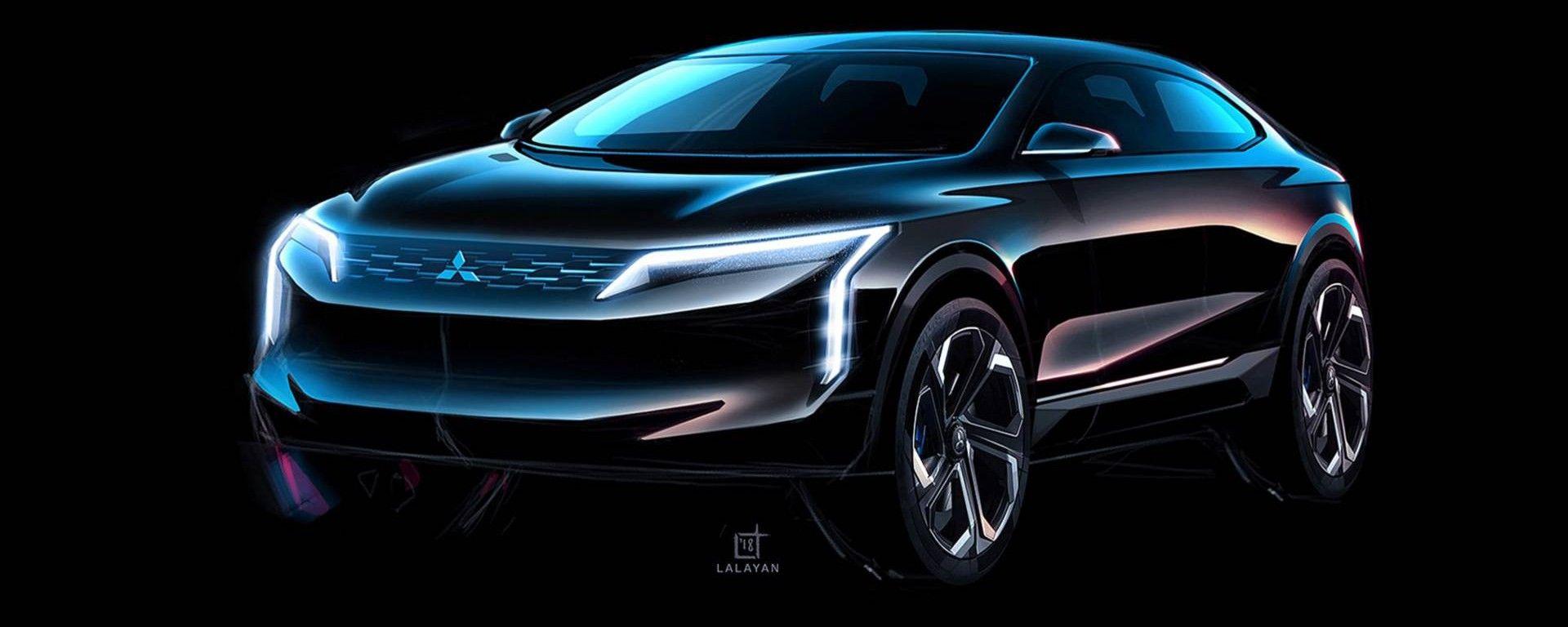 La Mitsubishi Lancer Concept secondo il designer Tigran Lalayan