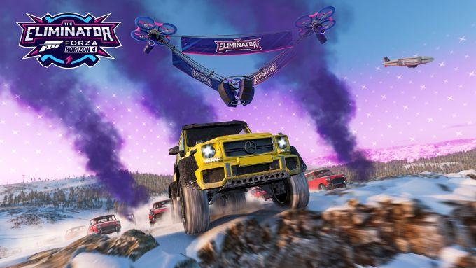 La modalità Eliminator di Forza Horizon 4, su PC e Xbox One