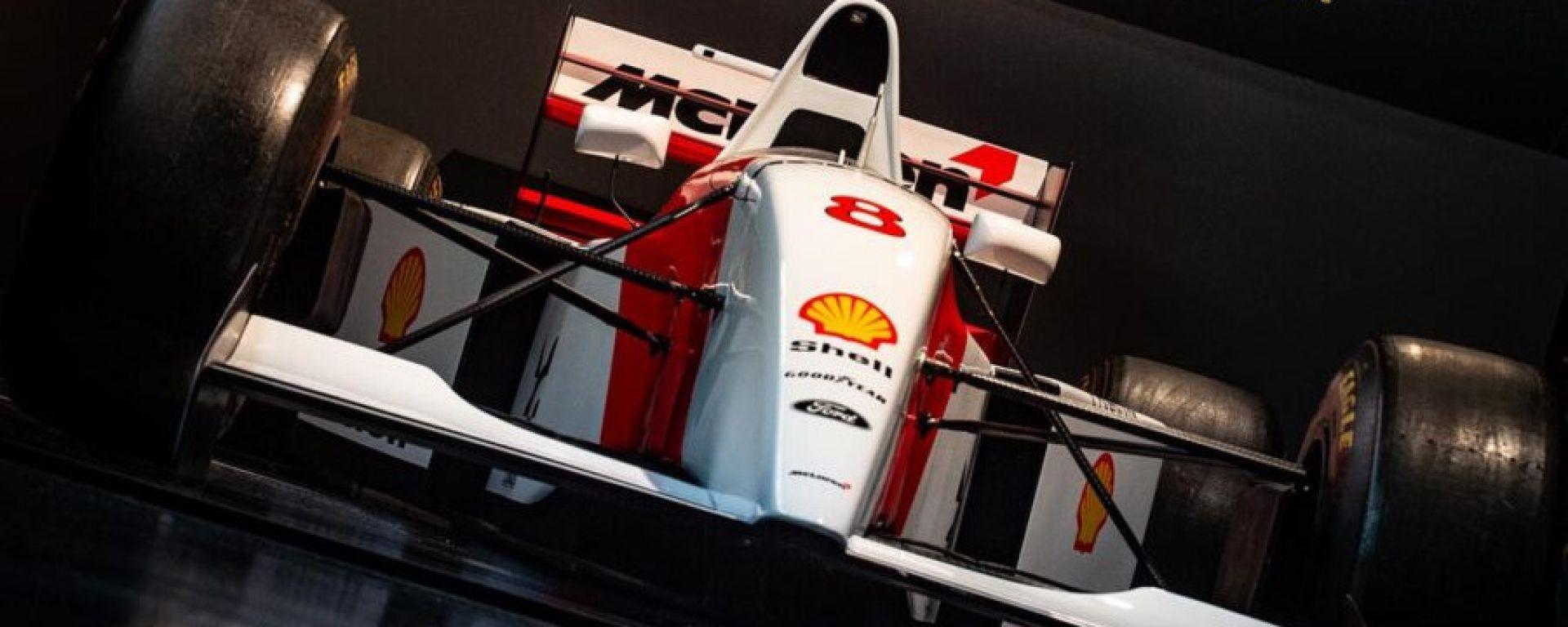 La mostra di Senna a Imola: dettaglio