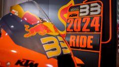 La moto di Brad Binder che rinnova con Red Bull KTM Factory fino al 2024